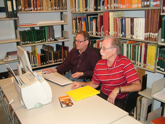 Image: Dieter Kurth and Wolfgang Waitkus