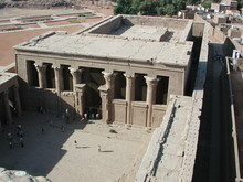 Image: The temple of Edfu